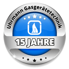 15 Jahre Uhrmann Gasgerätetechnik