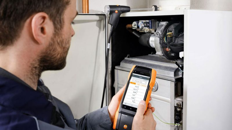 Uhrmann Gasgerätetechnik - Abgasmessung für Gasthermen